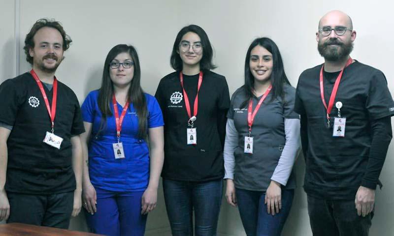 Hospital de Marchigüe realiza taller a pacientes con enfermedades mentales graves