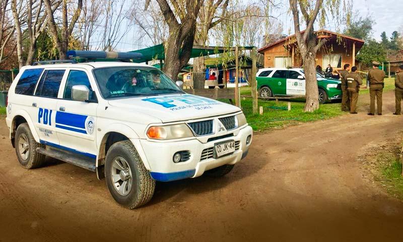 pdi Homicidio en camping del Lago Rapel