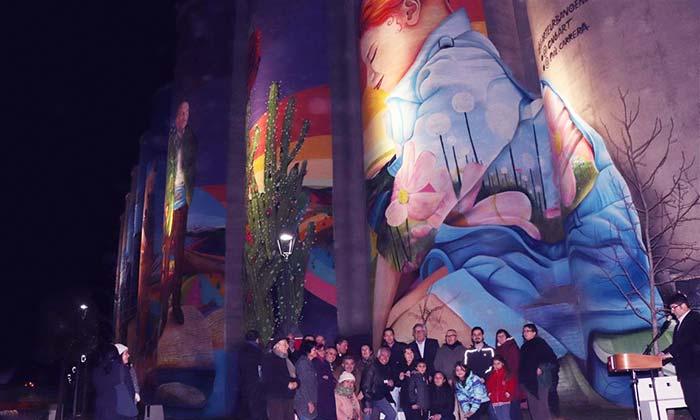 El mural más grande de Chile está en Rancagua