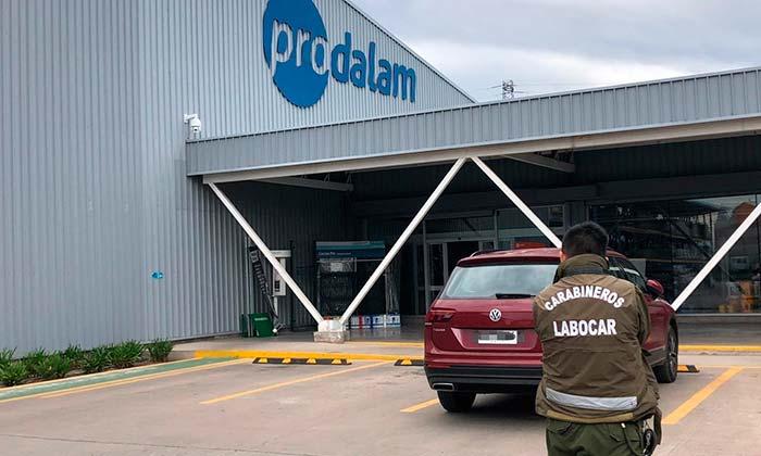 Investigan robo en empresa Prodalam de San Fernando