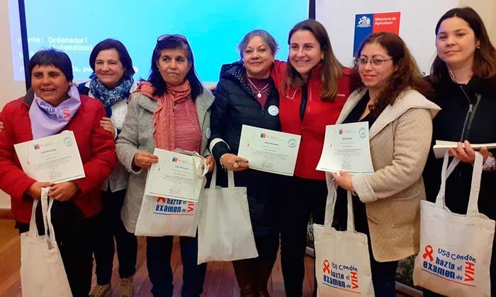 "Chépica: Forman ""Embajadoras"" en la prevención del VIH-SIDA e ITS"