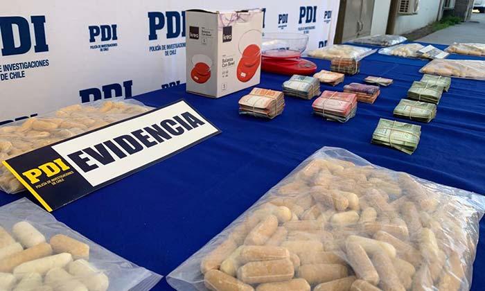 En Rancagua detienen a 14 personas que traficaban droga en ovoides