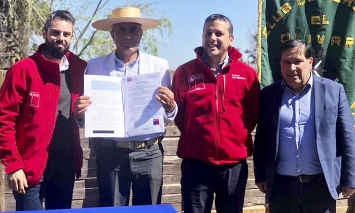 Entregan título de Dominio a Club de Huasos de Nancagua
