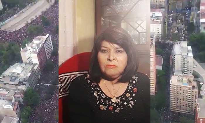 Carmen Gloria Quintana: Sigan de pie, sigan luchando