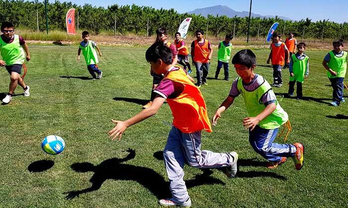 Mindep y O'Higgins FC unen voluntades para hacer actividad física