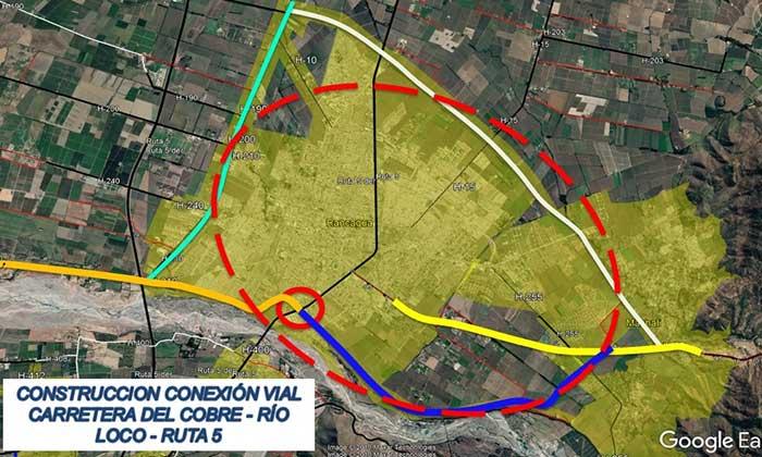 MOP O'Higgins inicia estudio de conexión vial que unirá conurbación lado sur Machalí-Rancagua