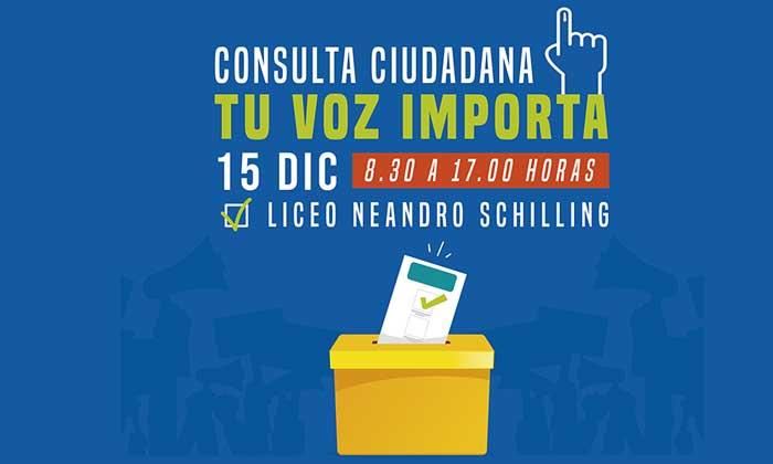 San Fernando se suma a consulta ciudadana del 15 de diciembre