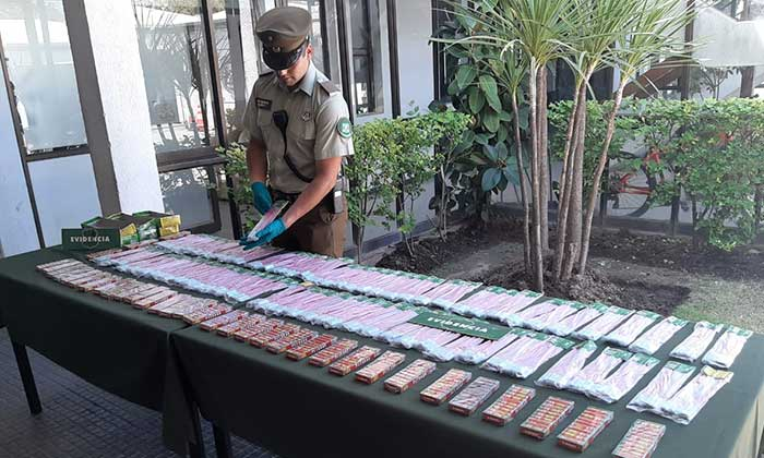 Sujeto comercializaba fuegos artificiales en Rancagua