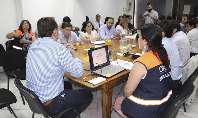 Alcaldes de Colchagua se reúnen para afrontar la sequía