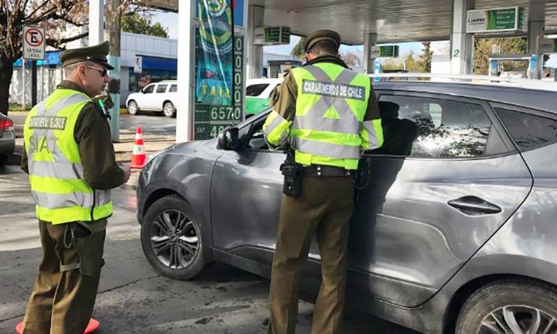 Carabineros invita a conductores evitar accidentes de tránsito durante desplazamientos