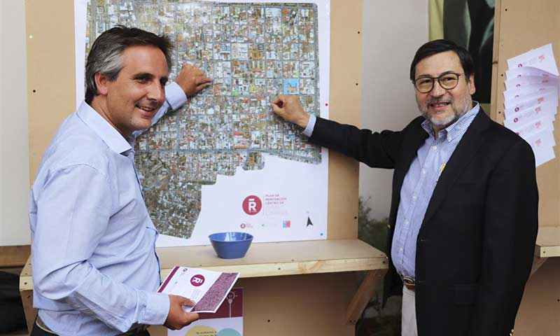 Kioscos de consultas recogerá iniciativas para remodelar el centro histórico de Rancagua