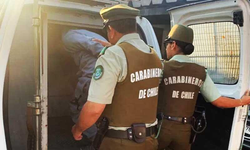 Rancagua: Dos sujetos son detenidos por porte ilegal arma de fuego y munición