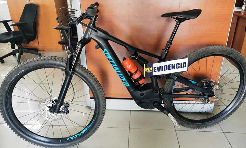 Recuperan en Rancagua bicicleta sustraída en Concepción