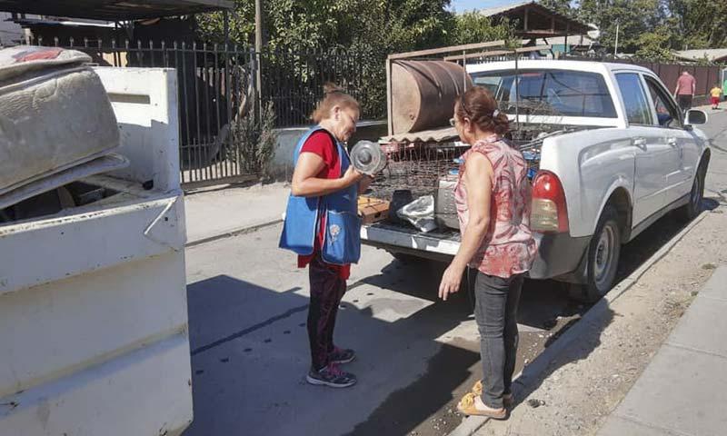 Con éxito finalizan retiros de enseres en desuso en Olivar