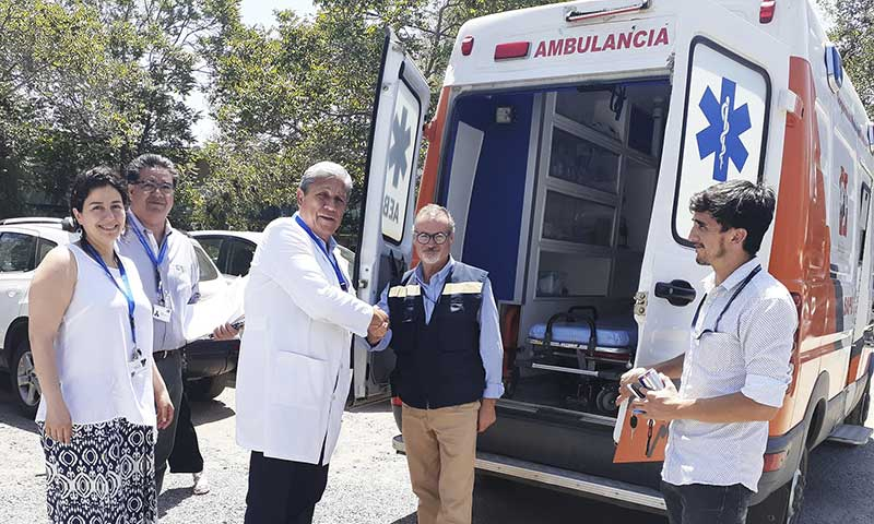 Cormun Rancagua facilita ambulancias a SAMU para dar continuidad a la atención