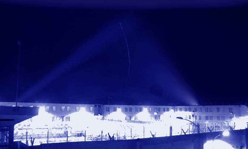 Dron lanza droga al interior de la cárcel de Rancagua