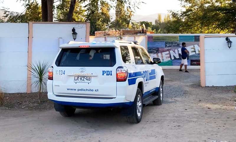 PDI investiga Femicidio ocurrido en motel San Vicente