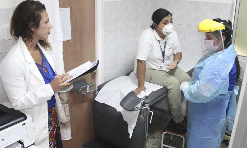 Realizan simulacros de Coronavirus en 15 hospitales