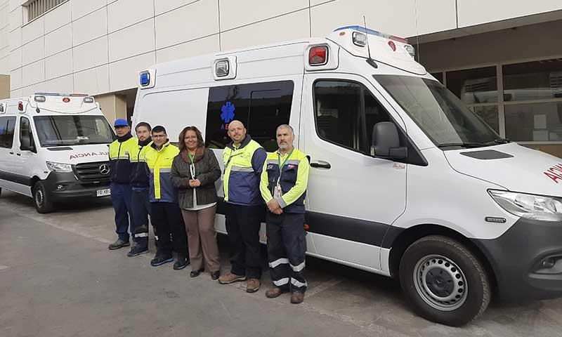 Hospital Regional de Rancagua aumenta su flota de ambulancias