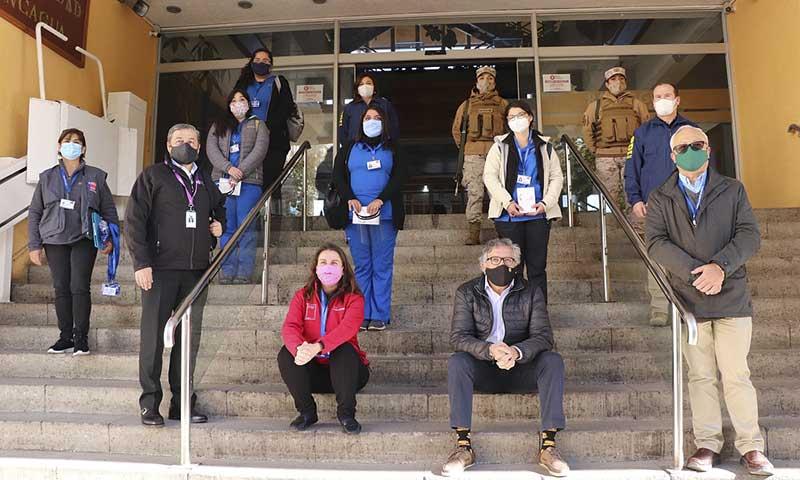 Personal de Salud municipal de Rancagua se integra a fiscalizaciones de Salud