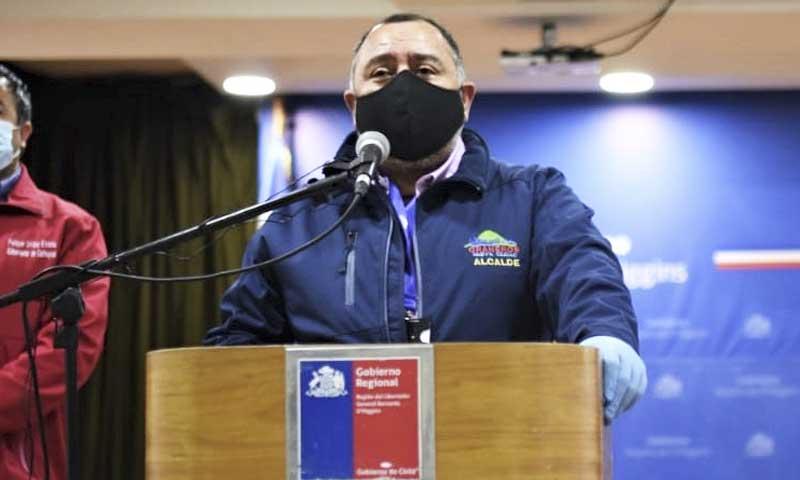 """Alcalde de Graneros: """"es un momento doloroso pero necesario"""""""