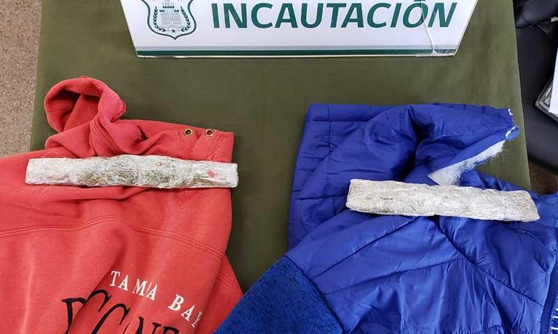 En prendas de vestir intentan ingresar droga a cárcel de Rancagua