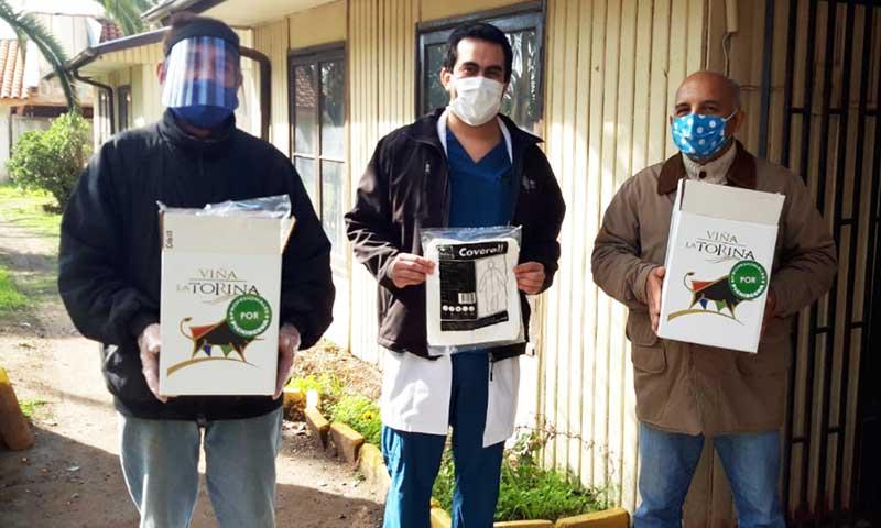 Consejo de Desarrollo protege a funcionarios del Hospital de Pichidegua