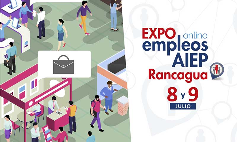 Se lanzó Expo Empleos online Aiep 2020 Rancagua