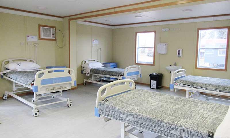 Anexo modular del Hospital de Rengo recibe a sus primeros pacientes quirúrgicos