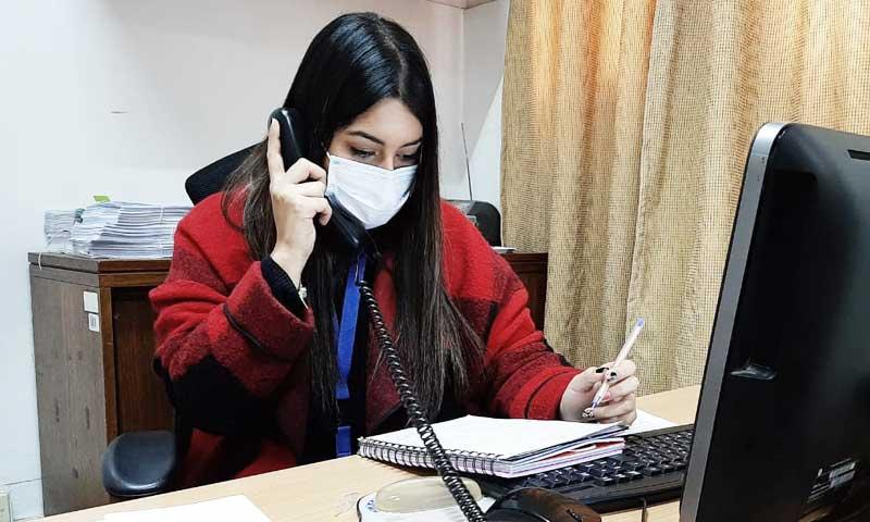 Central telefónica supera los tres mil llamados ante consultas por COVID-19