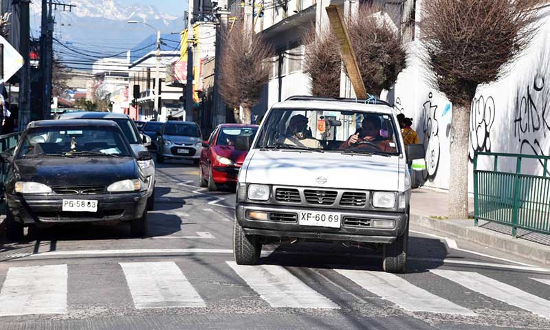 Decretan prohibición de estacionar en calles céntricas de San Fernando