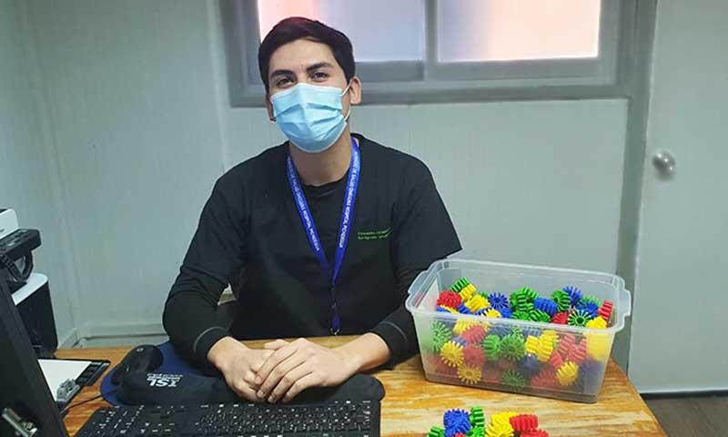 Hospital de Pichidegua cuenta con nuevo terapeuta ocupacional