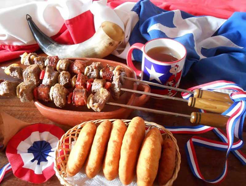 comida fiestas patria
