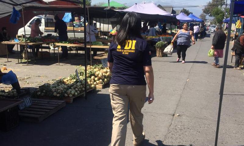 En Colchagua continúan fiscalizaciones a extranjeros por la PDI