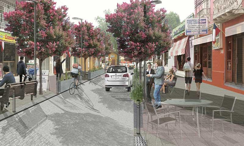 En San Fernando licitan mejoramiento de calle Rancagua para potenciar tradicional barrio comercial
