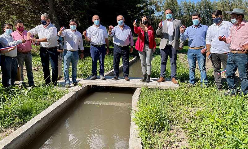 En Coltauco se inaugura obra de riego que beneficia a más de 116 pequeños agricultores