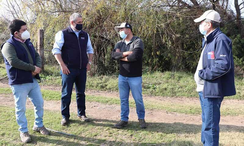 Entregarán segundo bono de emergencia a agricultores que sufrieron pérdidas en sus cultivos a principios de año